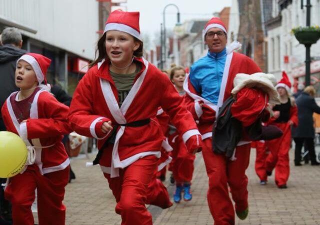 Oudste Santa Run van Nederland voor de 11de keer van start