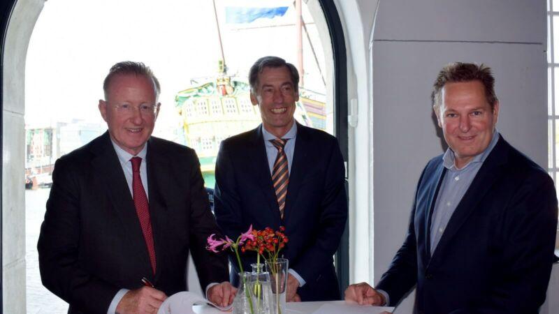 Damen sponsorpartner Sail Amsterdam 2020