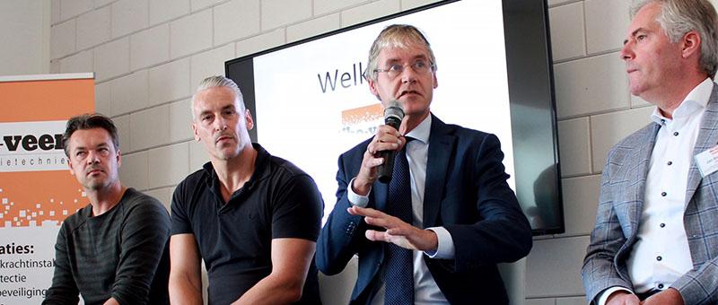 Minister Slob opent nieuwe bedrijfsschool