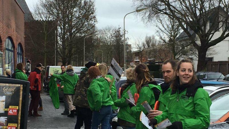 Burgemeester: 'Lof voor respectvolle demonstratie'