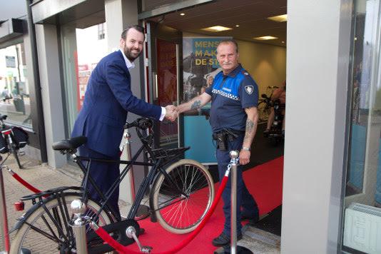 Bewaakte fietsenstalling binnenstad geopend