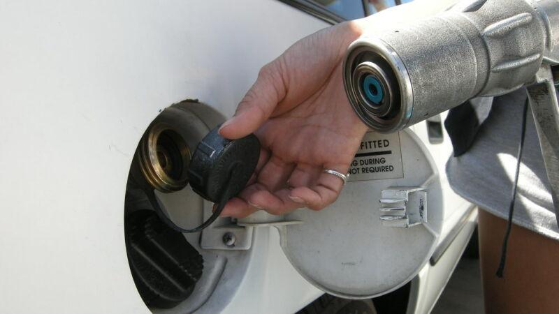 Lachgas zorgde mogelijk voor  botsing tankstation