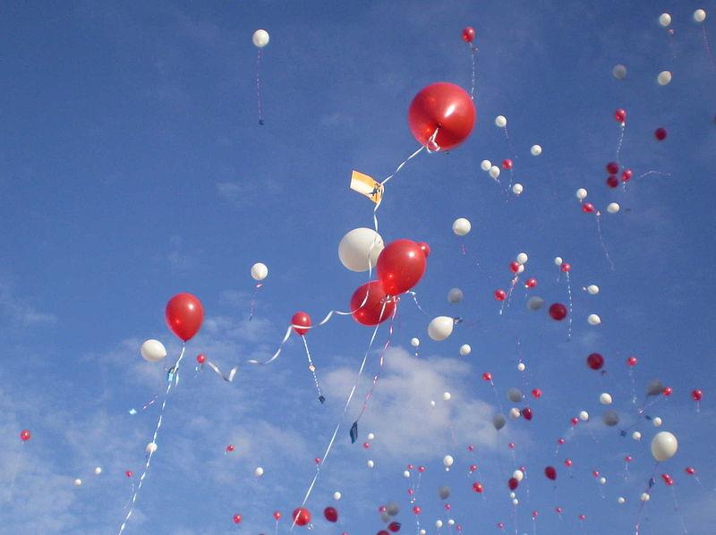 Stadsbestuur wil verbod op ballonnen loslaten