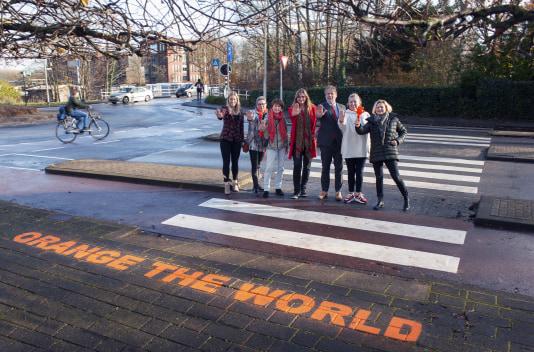 'Orange the World': gemeente Gorinchem ondersteunt Internationale Campagne tegen Geweld tegen Vrouwen