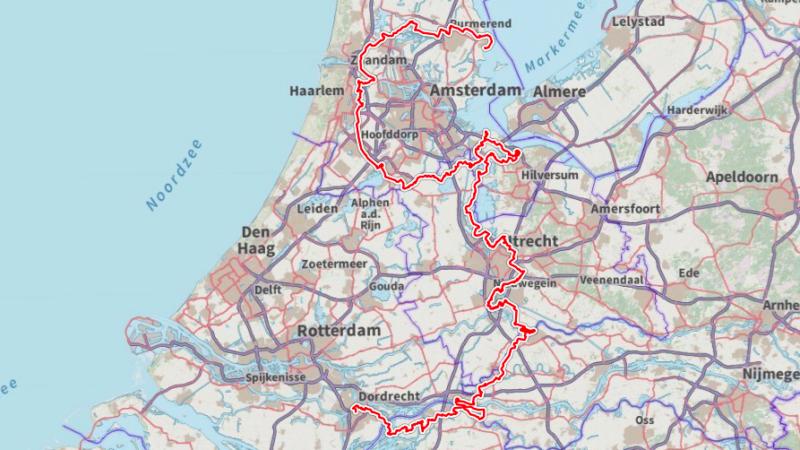 'Nieuw Waterliniepad' geen wandelroute van het jaar, wel in top 3