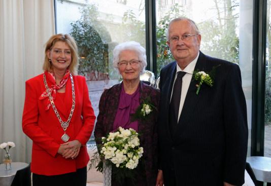 Diamanten huwelijk echtpaar Kruijs-van Beek