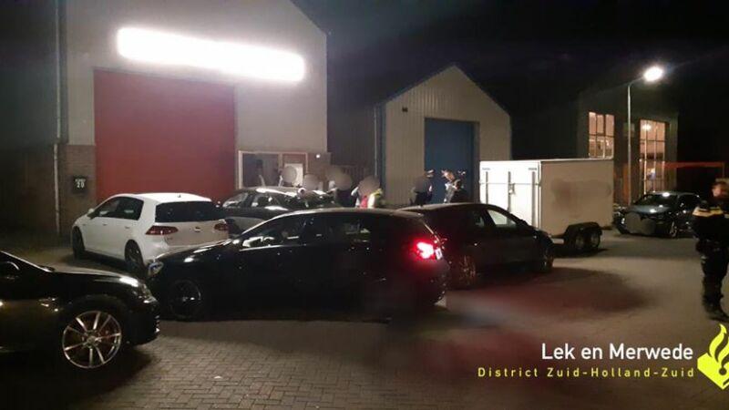 Politie treft illegale feestjes