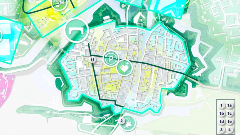 Uitvoeringsagenda mobiliteitsvisie deel 1: 'Binnenstad en fietsbrug'