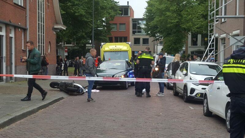 Scooterbestuurder zwaargewond bij ongeluk binnenstad