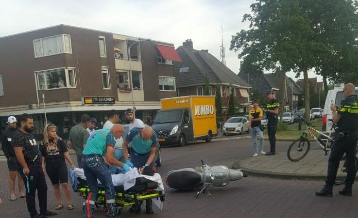 Ongeluk Kruising Willeminalaan en Groot Haarsekade