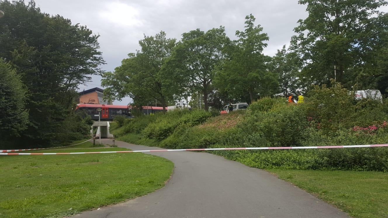 Zelfdoding bij Spoorwegovergang Banneweg afgelopen donderdag