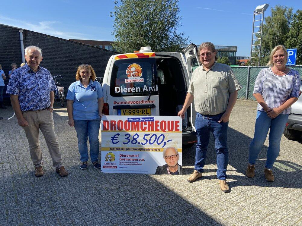 Dierenasiel Gorinchem krijgt €38.500,- voor verbouwing van de verblijven van oudere dieren