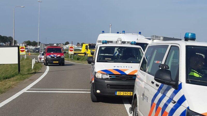 Dodelijk ongeval op A27