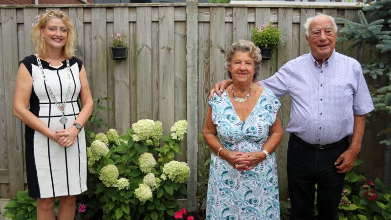 Briljanten huwelijk echtpaar Niesthoven-Viveen