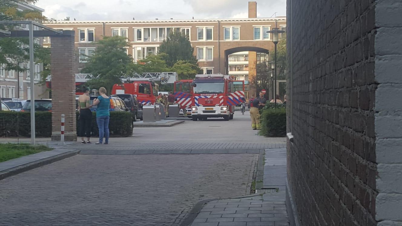 Pannetje te lang op vuur in Brouwerstraat