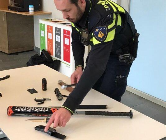Ongestraft wapens inleveren bij politie