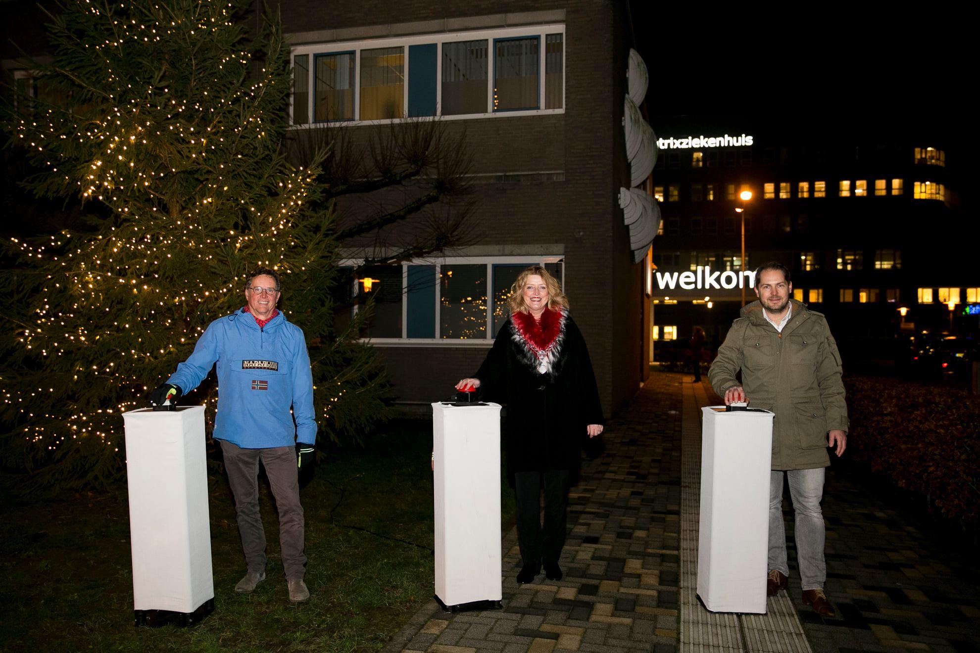 Ruim 31,5 duizend euro opgehaald met 'lichtjes voor Beatrix'