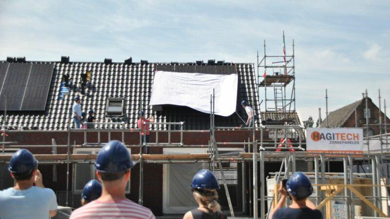 Feestelijk moment in Noordeloos: 10 nieuwe woningen