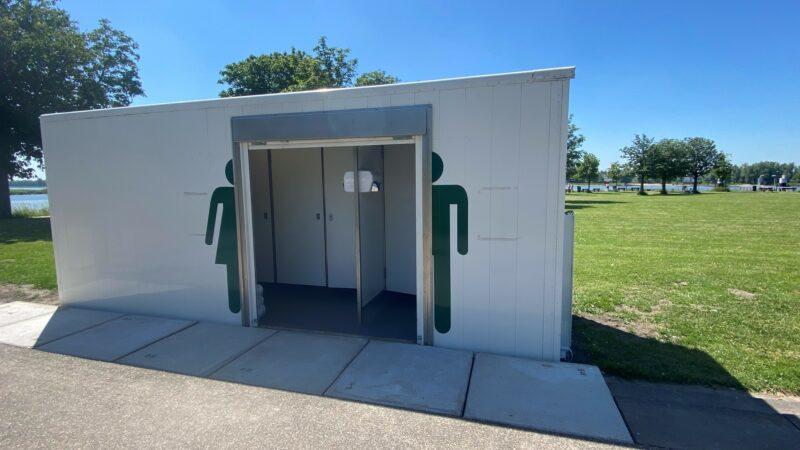 Buiten de Waterpoort heeft openbaar toilet