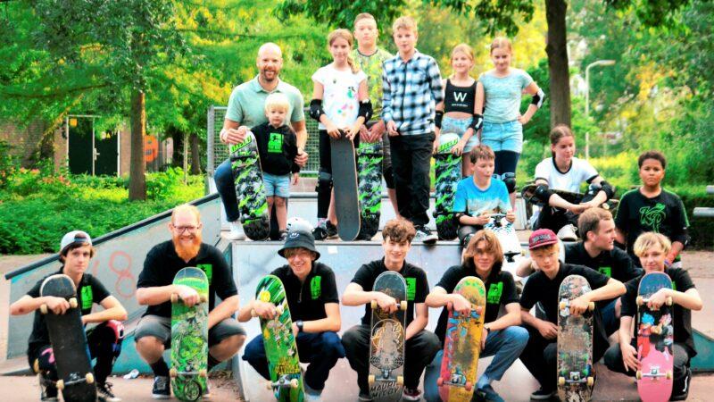 Populaire skateschool weer van start