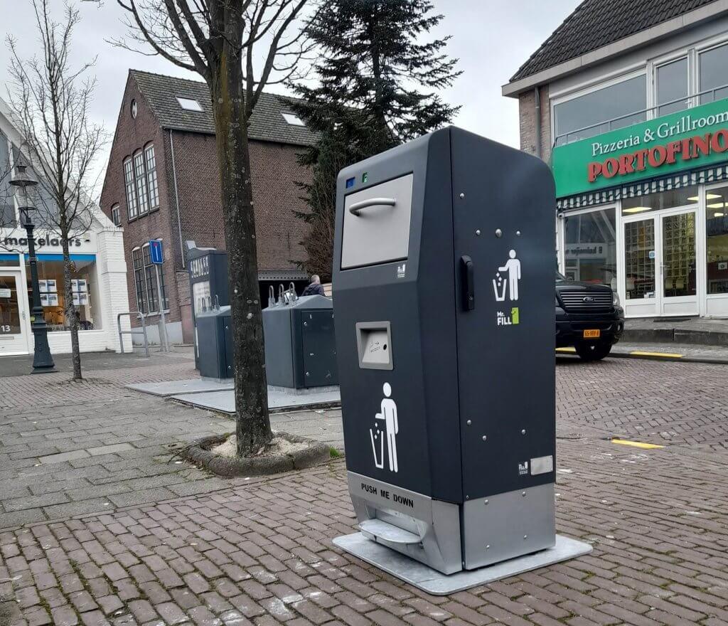 VVD wil slimme afvalbakken op straat