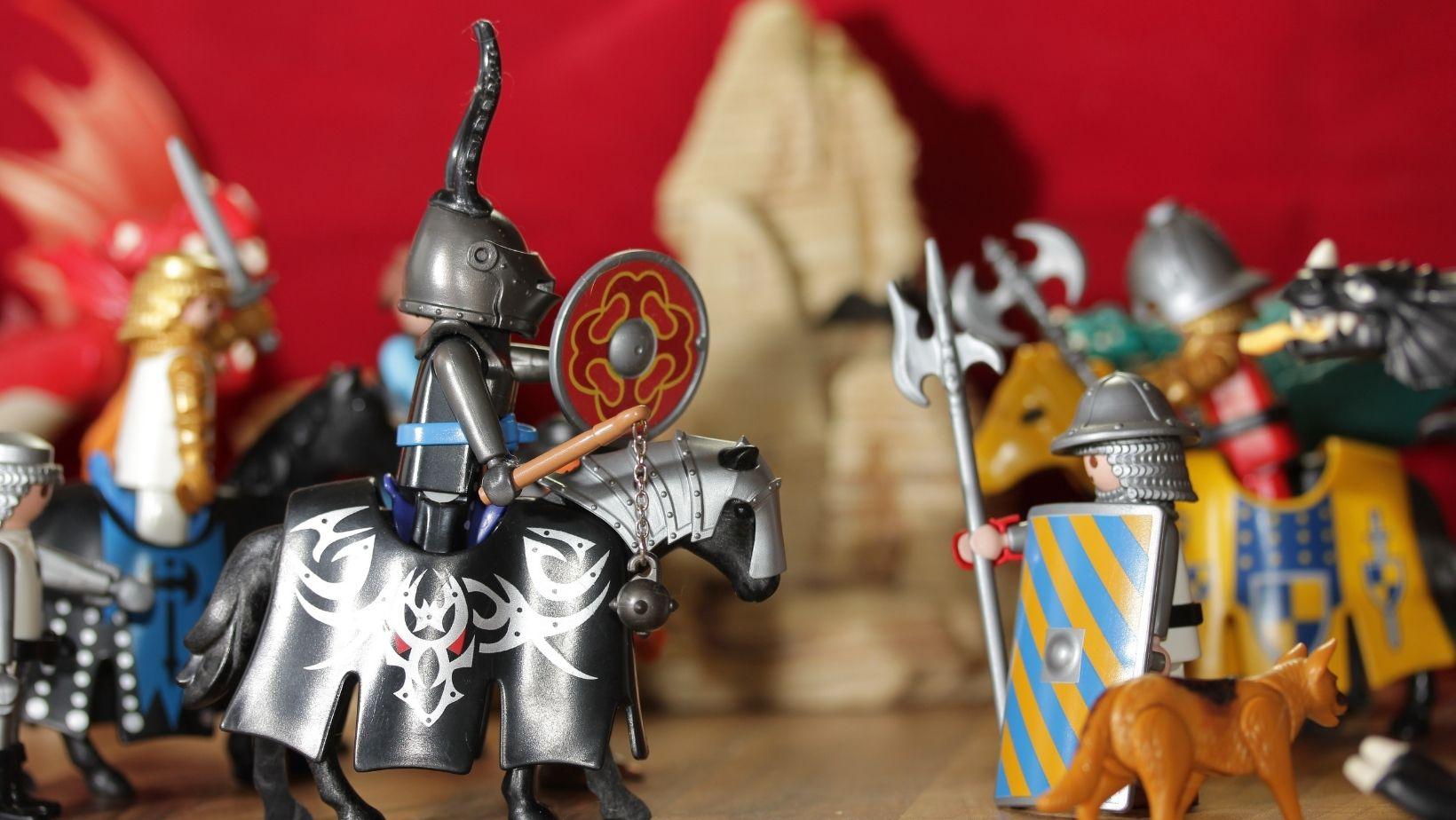Playmobil expo te zien in Gorinchemse binnenstad