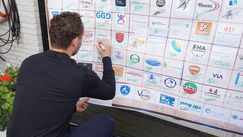 Nieuw platform 'Samen Actief in Molenlanden' feestelijk onthuld