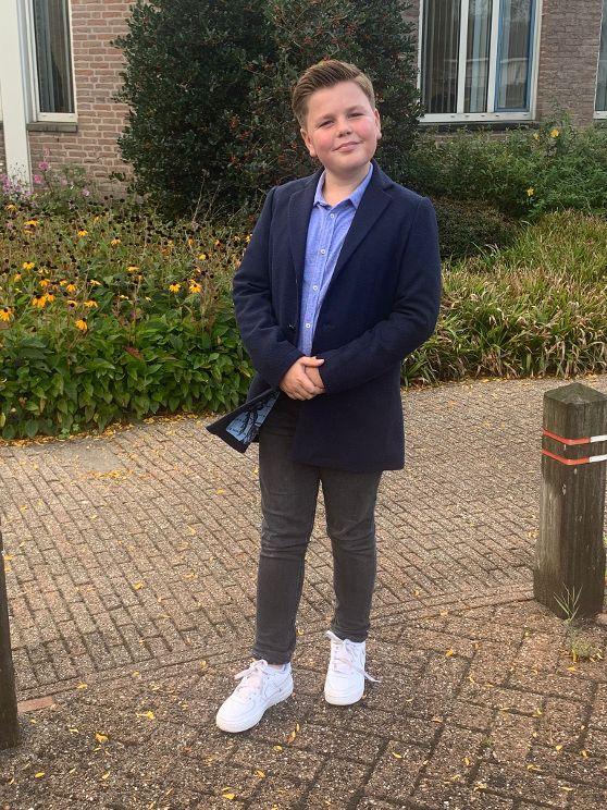 Fedde Linneweever wordt kinderburgemeester van Molenlanden